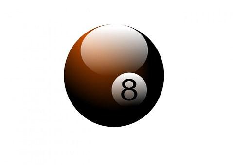 Pool Ball, Pool Table, Billiard, Ball, 8, Round, Game