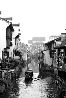 Shaoxing, Watertown, Beck, Scenery, Small Town