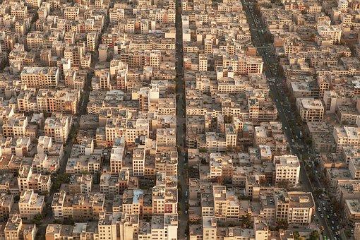 Tehran, Tehran From Above, Tehran Aerial, Aerial Tehran