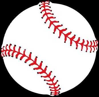 Baseball, Ball, Softball, Leather, White, Seam