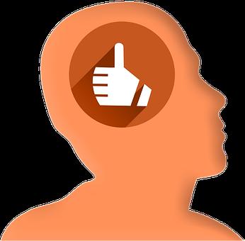 Icon, Head, Profile, Thumb, High, Like, Internet