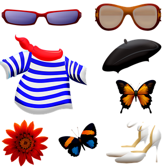 Clothing Accessories, Beret, Sunglasses, Shoes