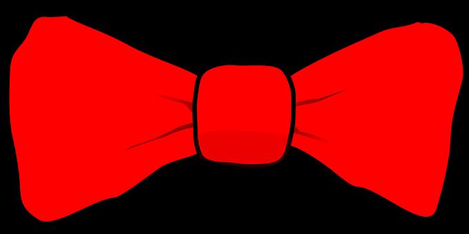 Bowtie, Red, Tie, Accessory, Attire, Fashion, Elegant