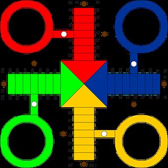 Ludo, Game, Game Board