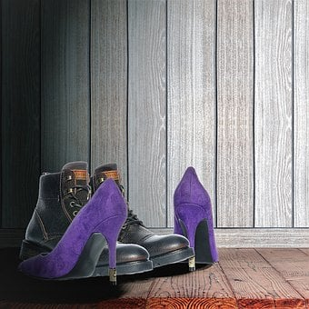 Shoe, Still Life, Schoenenpaar, Man-woman, High Heels