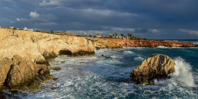 Coast, Rock, Sea, Cliff, Landscape, Nature, Shore, Sky