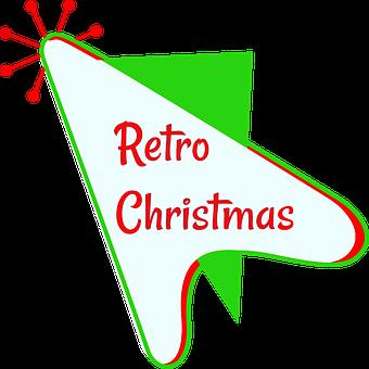 Retro Christmas, Mid Century, Atomic Age, 1950's