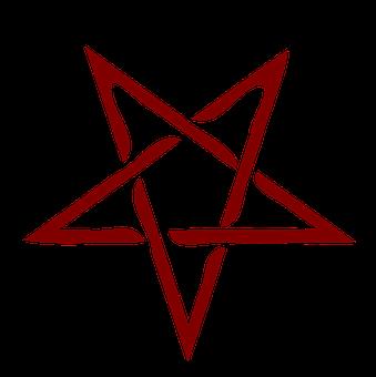 Pentagram, Star, Symbol, Religious, Adversary