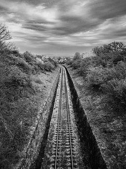 Landscape, Trains, Nature, Railway, Railroad, Transport