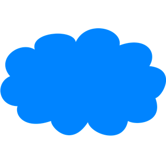 Icon, Cloud, Weather, Sky, Blue