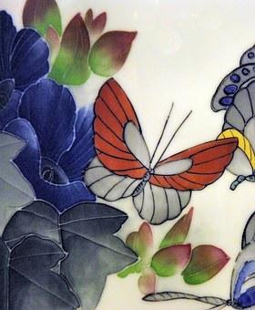 China, Guangdong, Crafts, Ceramic, Porcelain, Vase