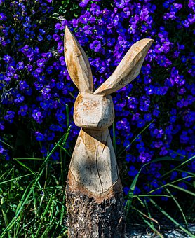 Easter, Hare, Wood Rabbit, Easter Bunny, Cute, Spring