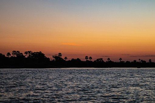 Sunset, Africa, Savannah, Safari, Landscape, Travel