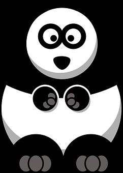 Panda, Bear, Baby, Face, Animal, Giant, Fat, Funny