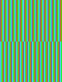 Vertical, Lines, Narrow, Aqua, Lime, Blue, Orange, Thin