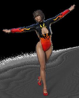 Woman, Body, Movement, Dance, Pretty