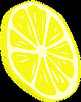 Lemon, Slice, Food, Fruit, Citrus, Fresh, Juicy
