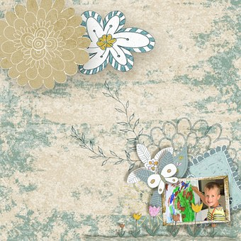 Christineart, Scrapbooking Handdrawn, Painting