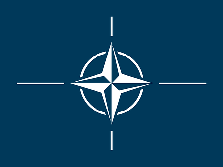 Flag, Nato, North, Atlantic, Treaty