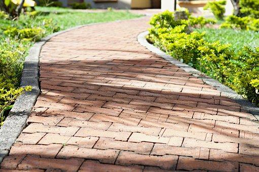 Path, Via, Bricks, Trail