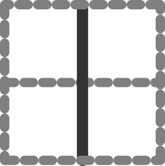 Vertical, Line, Table, Digital, Cells, Split, Divide