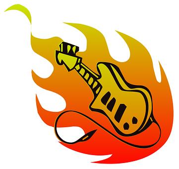 Guitar, Band, Music, Rock, Metal, Instrument, Hot