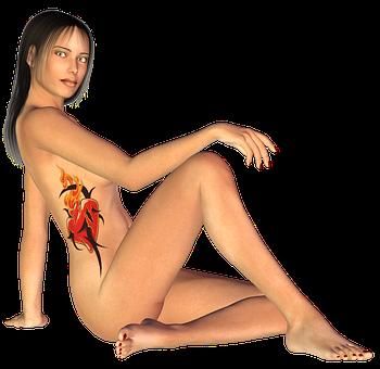 Woman, Permissive, Beauty, Temptation, Skin, Body