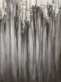 Lost In Woods, Grey, Charcoal, Retro, Vintage, Abstract