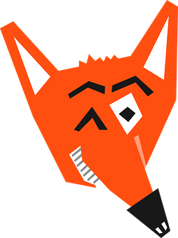 Fox, Animal, Cartoon, Cunning, Devious, Evil, Eye