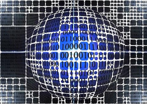 Lines, Network, Binary, Null, One, Digital, Internet