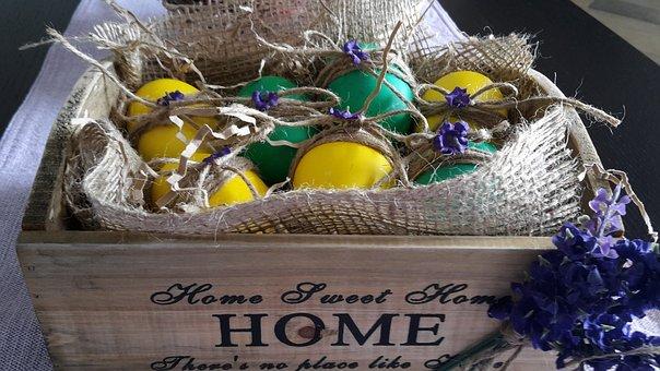 Easter, Eggs, Spring, Custom, Decoration, Deco