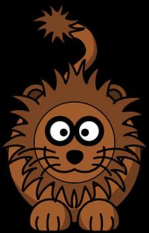 Lion, Animal, Head, Happy, Face, Wild