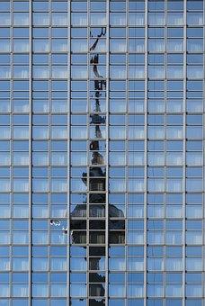 Skyscraper, City, Architecture, Urban
