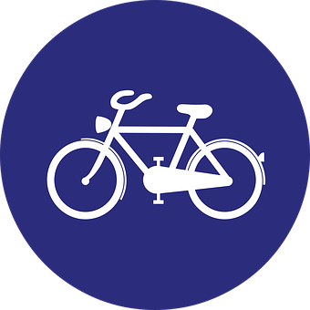 Cycle Path, Bicycle Lane, Road Sign