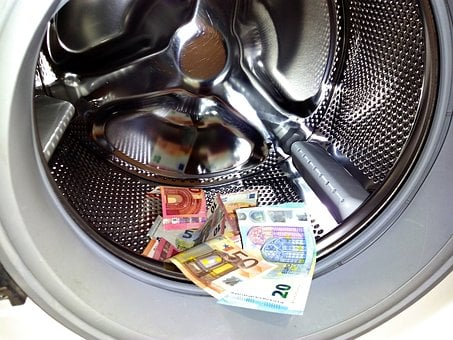 Money Laundering, Money, Euro, Laundry