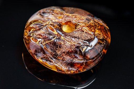 Amber, Ornament, Natural, Stone, Style, Predmeta