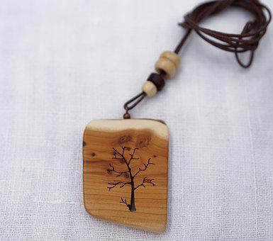 Necklace, Tree, Wood, Branches, Tribe, Structure