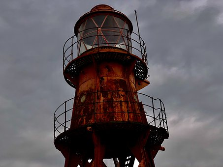 Lighthouse, Lighthouse Ship, Nautic, Seafaring