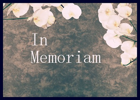 Memory, Mourning, Commemorate