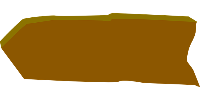 Arrow, Left, Shape, Wooden Plank, Brown, Directional