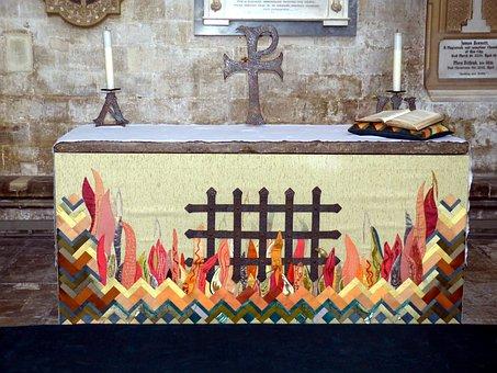 Altar, Faith, Historically, Salisbury, England, Bible