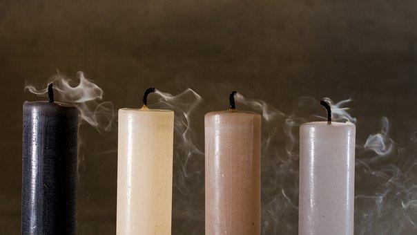 Candles, Smoke, Blown Out