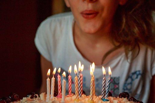 Birthday, Cake, Candles, Birthday Cake, Twelve, Years