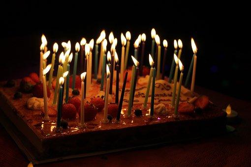 Candles, Festival, Birthday, Child, Cake, Dessert