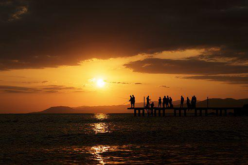 Sunset, Solar, Light, Nature, Landscape, Cloud, Peace