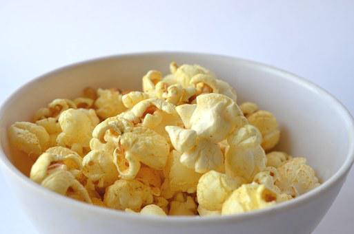 Popcorn, Fast Food, Movie, Cinema, Food, Corn, Snack