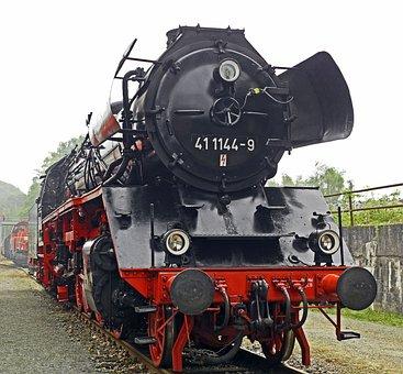 Steam Locomotive, Goods Train Locomotive, Exhibition