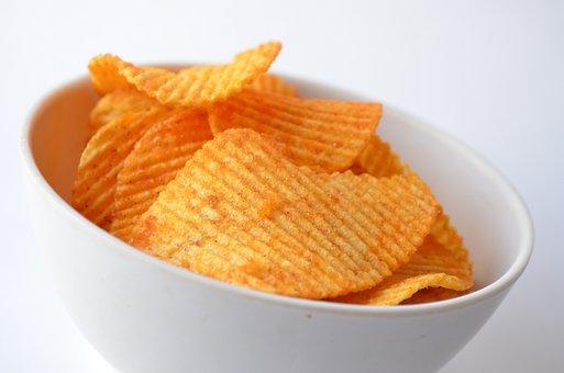 Potato, Bowl, Food, Snack, Edible, Junk, Fried, Salty