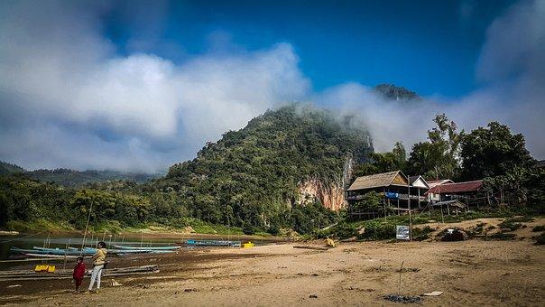Countryside, Mekong River, Laos