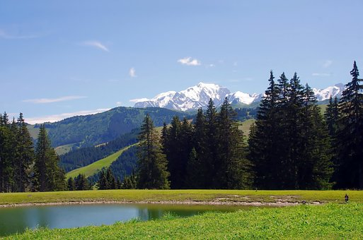 France, Alps, Mountain, Mont Blanc, Hiking, Solitude